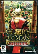 Glory of the Roman Empire - Brand New in sealed DVD-Box - PC city-building strat