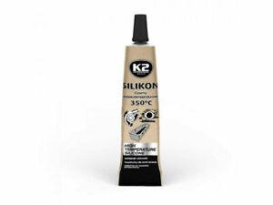 K2 Black High Temperature 350° Heat Resistant Silicone Sealant Adhesive 21g