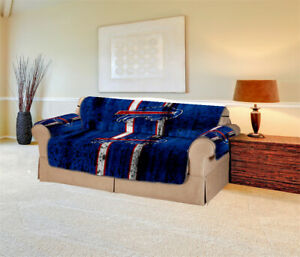 Buffalo Bills Sofa Cover Furniture Slipcovers Protector Strech Couch Cover Gifts
