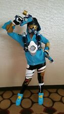 3D Printed Overwatch Graffiti Tracer Respirator Mask Cosplay