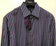 "Paul Smith Shirt MULTISTRIPE ""LONDON"" CLASSIC FIT 16.5"" Eu 42 BNWT RRP £140"
