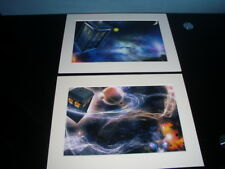 Mounted Iconic Dr Who Prints