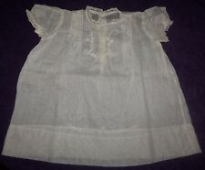 Antique Baby Infant Dress ~ 1850-1900 era