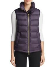 Burberry Bredon Puffer Down Vest Jacket Stand Collar Dark Purple Sz XL $495 New