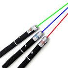 5mw High Power 3PCS Red+Green+Blue Purple Laser Pointer Pen Beam Light Lazer USA
