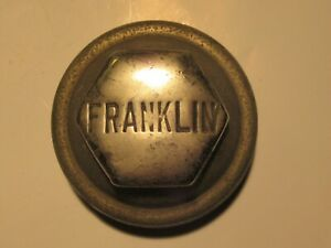 FRANKLIN SCREW ON VINTAGE EARLY HUBCAP HUB CAP.