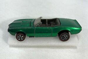 Hot Wheels Redline Custom Firebird Convertible Door Lines Green US Sweet 16