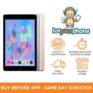 "Apple iPad 6th Gen 2018 9.7"" Screen Display 32GB 128GB All Colours AU Model"