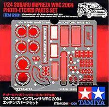 Tamiya 12601 1/24 Subaru Impreza WRC 2004 Photo-Etched Detail Set
