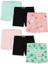 One Step Up Girls' 6-Pack Bike Shorts