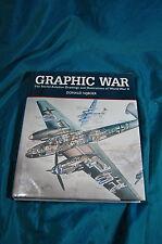 Graphic War Secret Aviation Drawings Illustrations of World War 2 II Nijboer