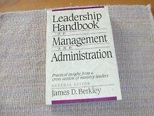 Leadership Handbook of Management and Administration (2003, Paperback)