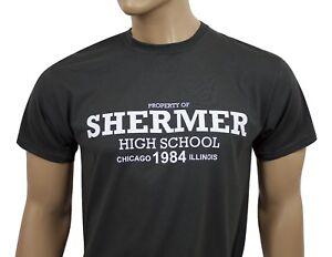 The Breakfast Club 80s inspired mens film t-shirt -Shermer High School