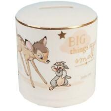 Disney Magical Beginnings Ceramic Money Box Bank  - Bambi Gift
