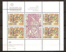 Portugal - 1982 - Mi. Blok 35 (CEPT) - Postfris - NI593