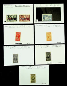 COSTA RICA AVIATION FAMOUS PEOPLE 8v MH STAMPS CV $23