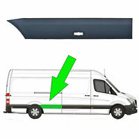 Mercedes Sprinter LWB Plastic Protective Side Moulding Strip Trim O/S 2006 -2018
