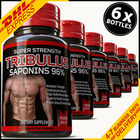TRIBULUS TERRESTRIS PILLS STRONGEST CAPSULES BIGGER MUSCLES BOOST BODYBUILDING
