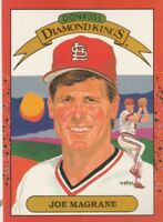 FREE SHIPPING-MINT TO NRMINT-1990 Donruss #13 Joe Magrane Cardinals DIAMOND KING