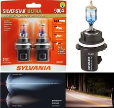 Sylvania Silverstar Ultra 9004 HB1 65/45W Two Bulbs Head Light Dual Beam Upgrade
