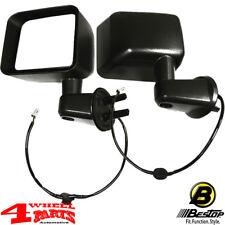 Spiegel Außenspiegel Set Elektrisch + beheizt schwarz Jeep Wrangler JK Bj. 11-13