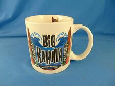 Coffee mug tea cup Big Kahuna The Island Group holiday gift big shot Hawaii