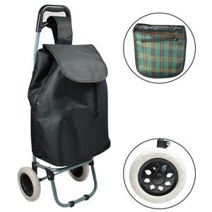 Einkaufstrolley Trolly Einkaufswagen Handwagen Koffer Handgepäck schwarz Roller