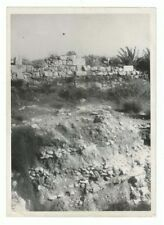 Real Photo Megiddo Archaeological Remains Layered Structures Jewish Art Judaica