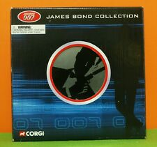 CORGI - 2003 - JAMES BOND 007 - COLLECTION - 4 CAR SET IN METAL FILM TIN - MIB