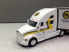 HO 1/87 TNS # 3007 Kenworth T700 w/53' Dryvan Halvor - White