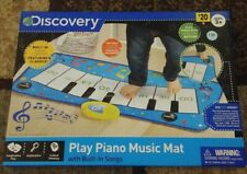 Discovery Kids Play Piano Toy Mat With Built In Songs New