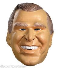 GEORGE W. BUSH 43RD U.S PRESIDENT MASK ADULT HALLOWEEN COSTUME ACCESSORY