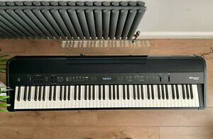 Roland FP-90X Digital Piano, Pedal Unit & Stand — Excellent Condition