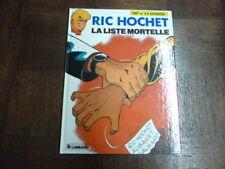 RIC HOCHET TOME 42 - LA LISTE MORTELLE - TIBET DUCHATEAU