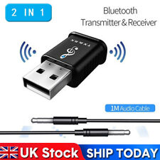 USB Bluetooth 5.0 Transmitter Receiver Adapter for TV PC Car AUX Speaker Dongles