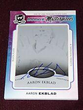 14-15 The Cup Aaron Ekblad Rookie Masterpiece 1/1 AUTO Black Printing Plate RC