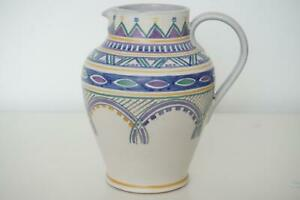 Early Carter Stabler Adams Poole Pottery Jug / Vase - Red Earthenware - c.1920's