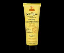 The Naked Bee Facial Moisturizer Everyday SPF 30 2.5 oz Vitamin C Anti Wrinkle