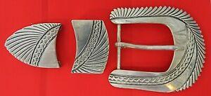 James Reid LTD sterling Silver Belt Buckle
