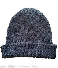 NIKE Damen Herren Mütze superweiche Wintermütze blau NEU