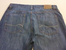 037 MENS EX-COND JAG CLASSIC FIT REG STEELY BLUE FADE JEANS 34 / -- L $120 RRP.
