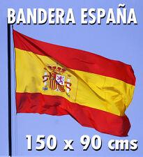 Bandera España constitucional 150 x 90 cms. Vaina + cintas. NUEVA !!