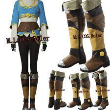 The Legend of Zelda Breath of the Wild Princess Zelda Cosplay Shoes Cos Boots