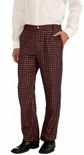 Plaid Men's Adult Holiday Christmas Party Costume Pants