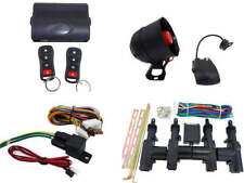 High Quality Car Alarm Remote Siren Shock Sensor Full Set Central Locking Kit 1
