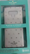 Kate Spade Flexible Hardshell Case For Galaxy Note 9 Pin Dot Gems