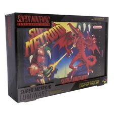 SUPER METROID LUMINART  FROM NINTENDO  LIGHT UP CANVAS ART  TOUCH OR SWITCH ON