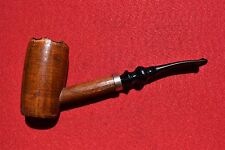 Rare Unsmoked Vintage Buescher's World Famous Hardwood Freehand Pipe Copper Band