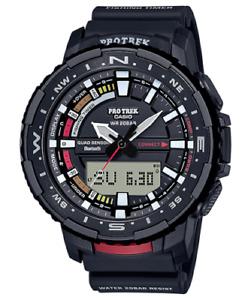 Casio Men's Pro Trek Quartz Sport Watch with Resin Strap Black Watch