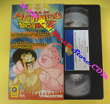 film VHS DRAGON BALL DRAGONBALL Z 29 saga di majinbu 02 DEAGOSTINI (F93) no dvd